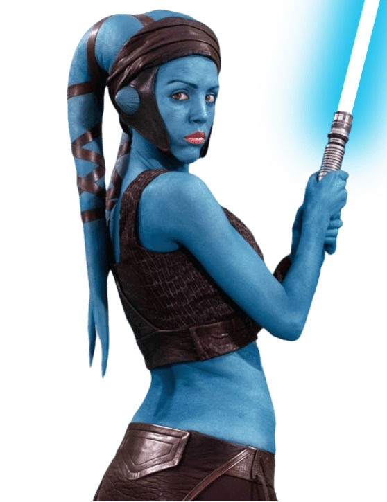 Star Wars The Clone Wars Luminara Coloring Pages