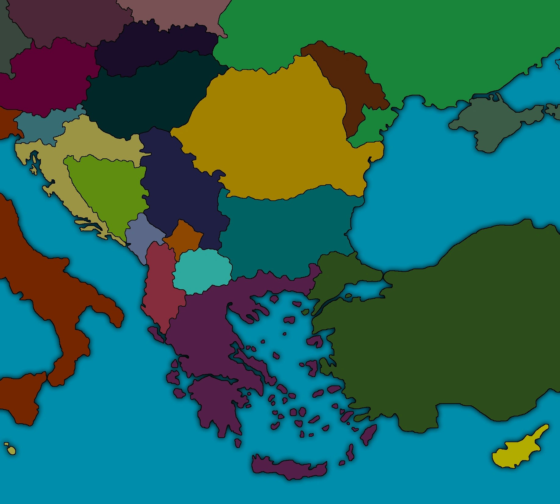Image   Map of the balkans png   TheFutureOfEuropes Wiki   FANDOM     Map of the balkans png