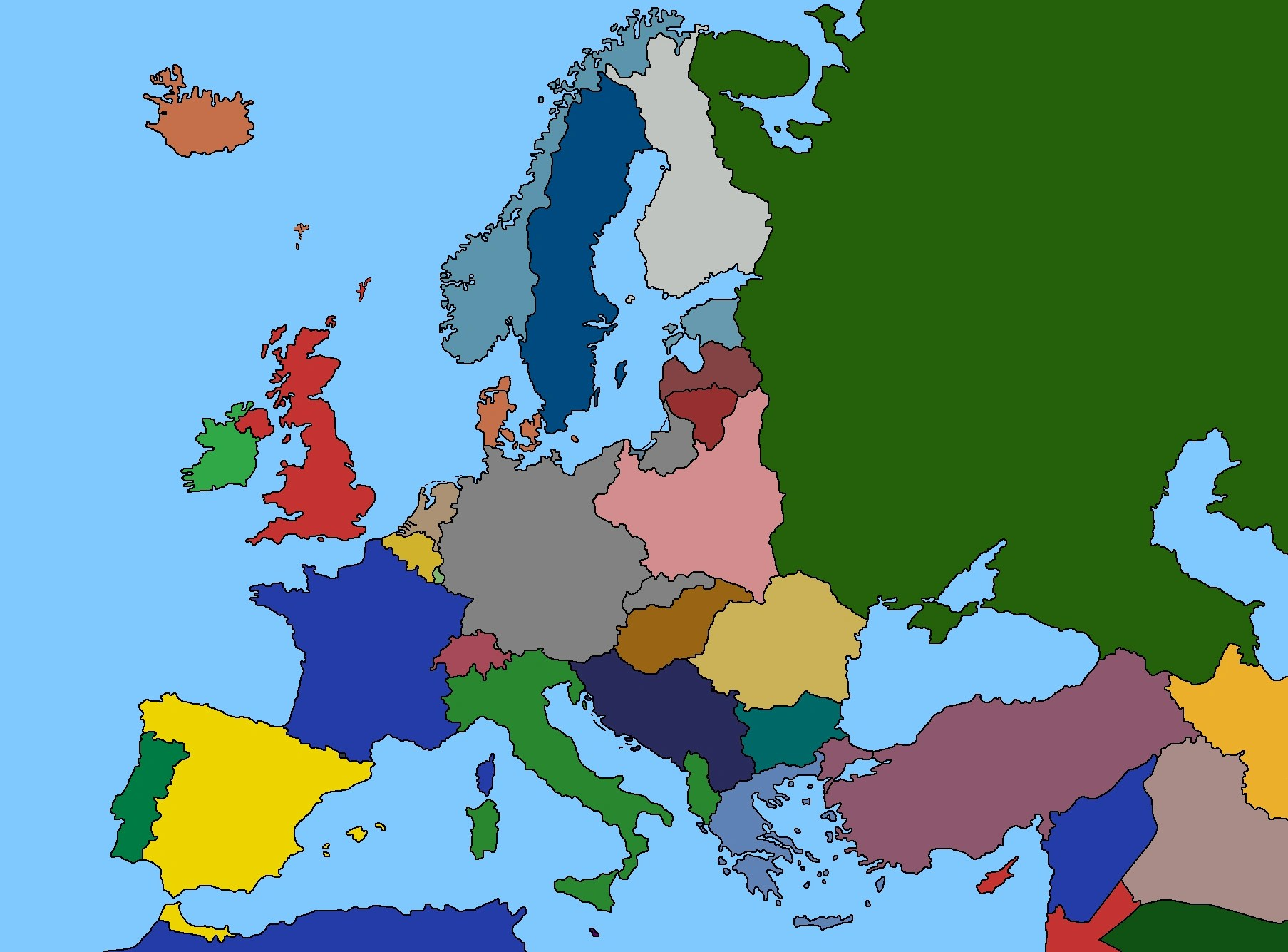 Image   Map of Europe 1939 png   TheFutureOfEuropes Wiki   FANDOM     Map of Europe 1939 png