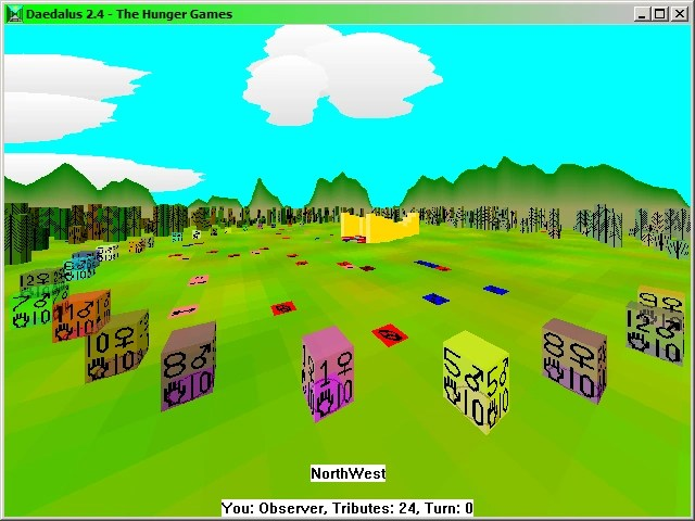 User blog Cruiser One My Hunger Games computer simulation   The     Daedalus  Hunger Games simulation screenshot
