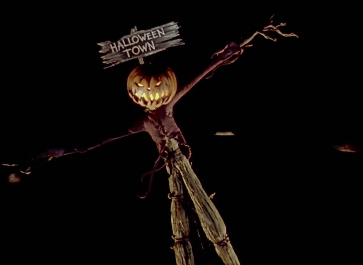 Halloween Town Nightmare Before Christmas Cover Photo