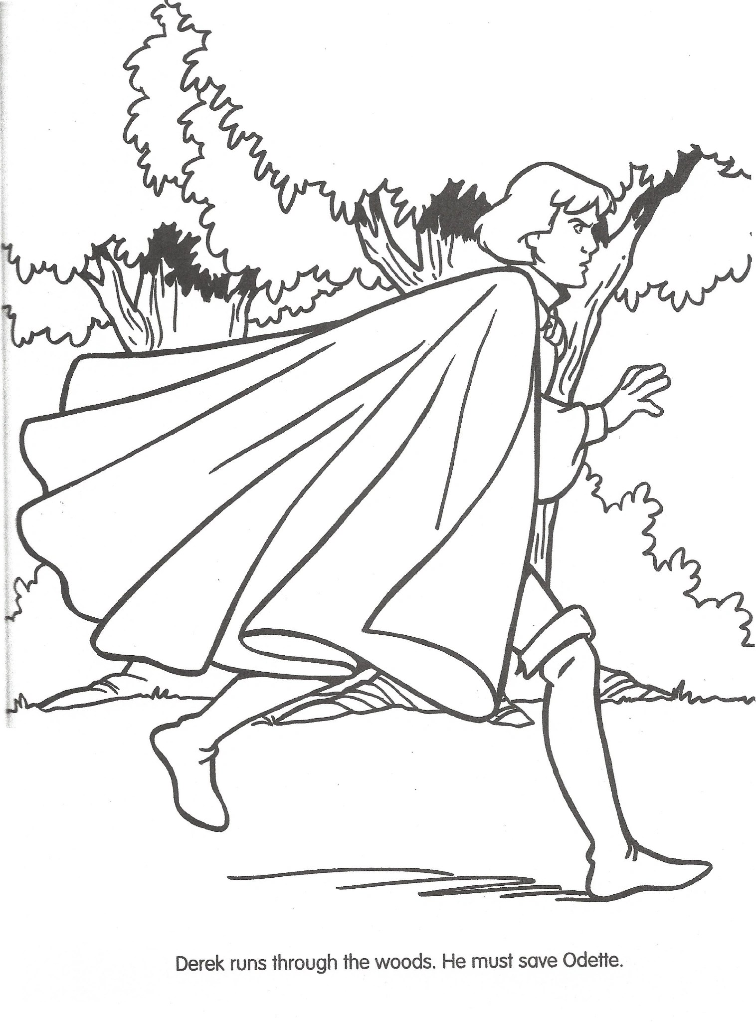 Image Swan Princess Official Coloring Page 44 The Swan