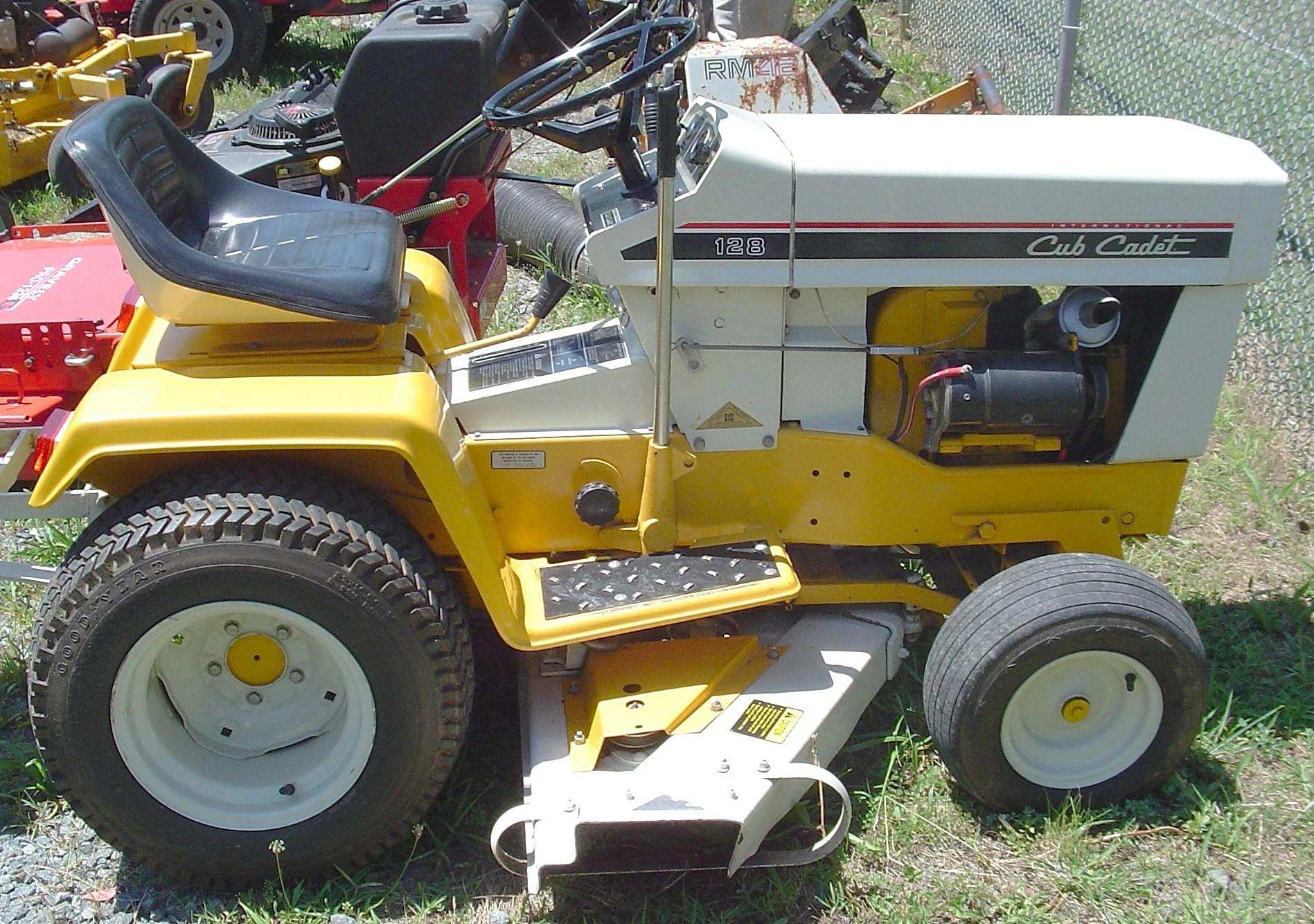Cub 1050 Garden Tractor Wiring Diagram