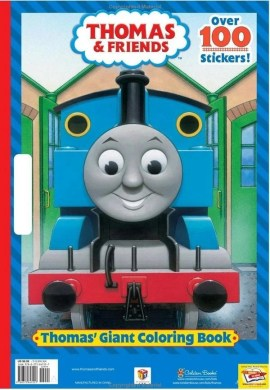 Thomas  Giant Coloring Book   Thomas the Tank Engine Wikia   FANDOM     Thomas  Giant Coloring Book