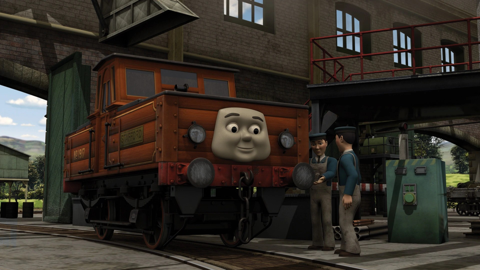 Welcome Stafford | Thomas the Tank Engine Wikia | FANDOM ...