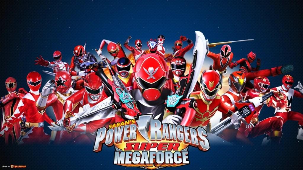Vs Red Ranger Power Rangers Megaforce Creepox