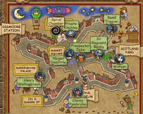 Image   Regent s Square Map png   Wizard 101 Wiki   FANDOM powered     Regent s Square Map png