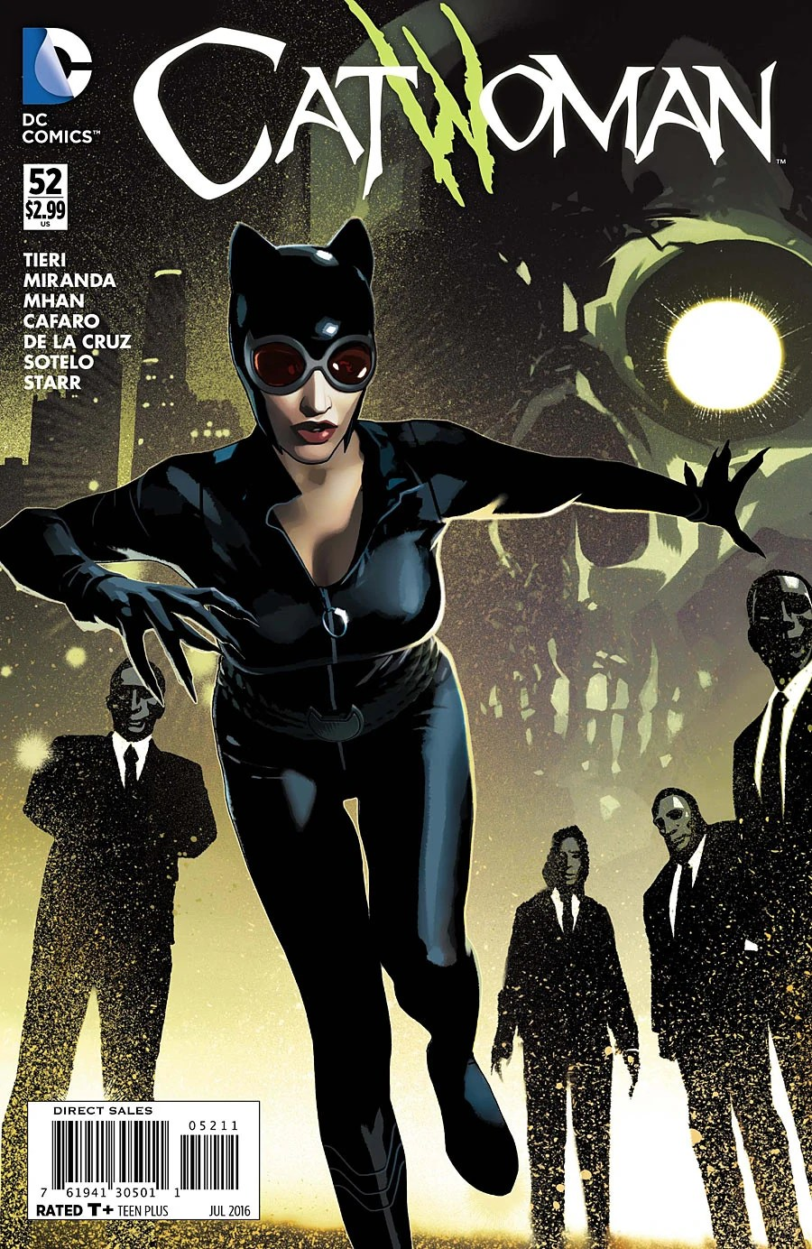 Catwoman (Volume 4) Issue 52 | Batman Wiki | FANDOM ...
