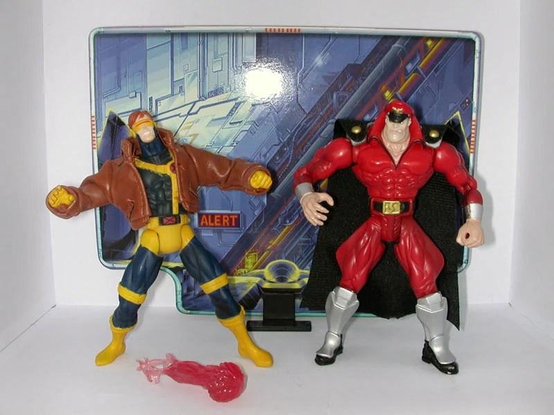 Charlie Street Fighter Vs X Men