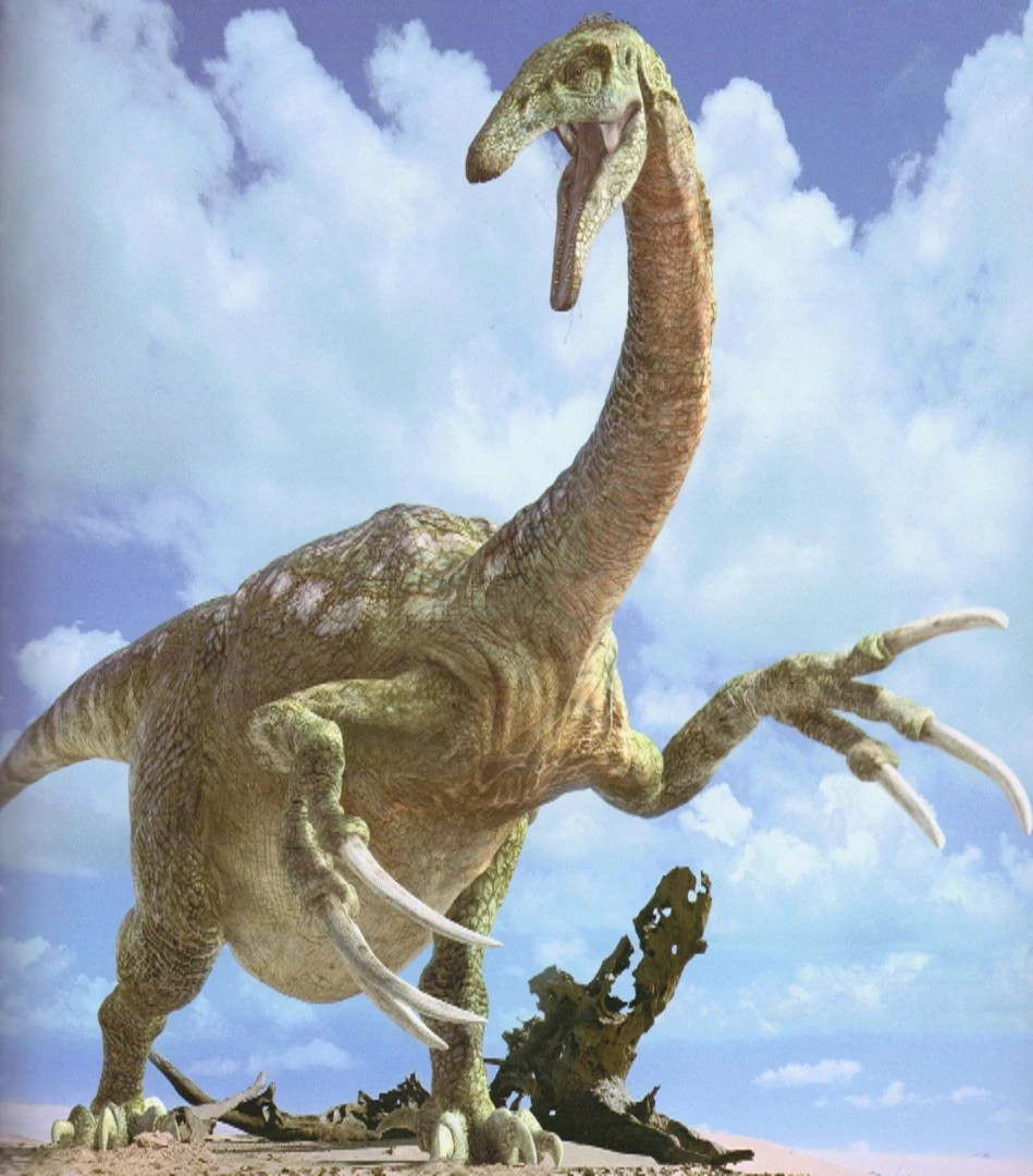 Herbivore Dinosaurs Long Claws
