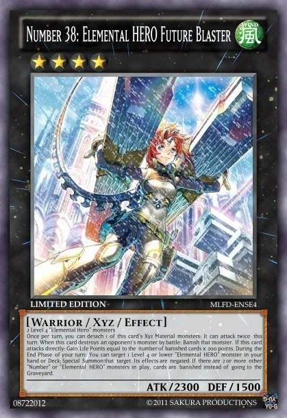 Number 38 Elemental Hero Future Blaster Ycm 2 Remake