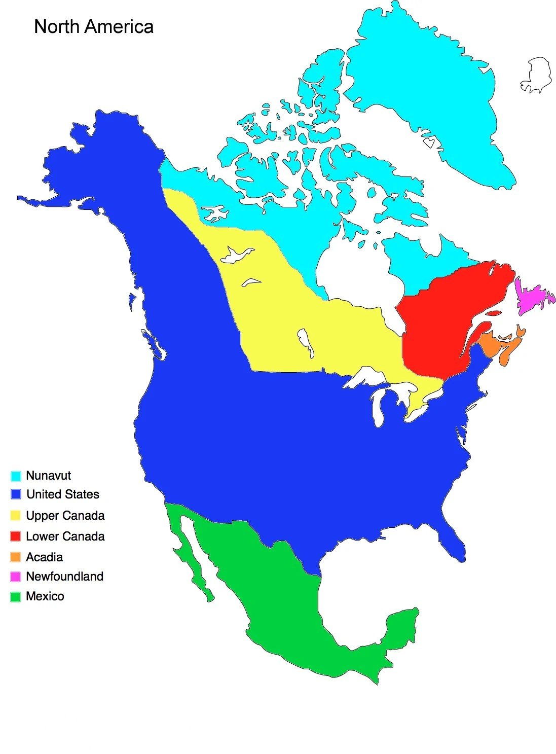 North America (Altcanada) | Alternative History | Fandom ...