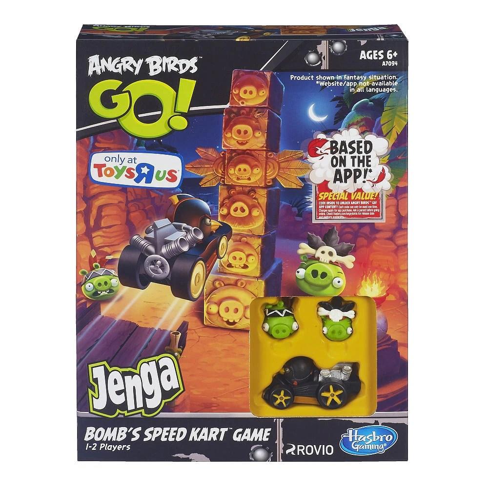 Angry Birds Go Jenga Bomb