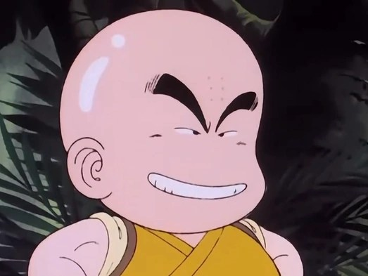 Krillin Dragon Muscles Ball Z