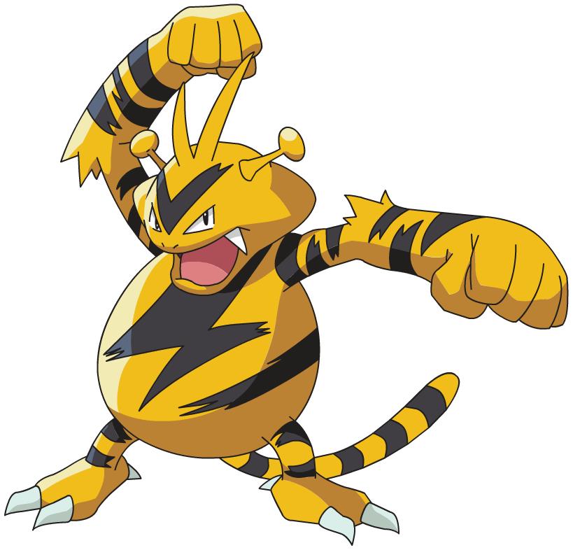 Electabuzz | Sonic Pokémon Wiki | Fandom powered by Wikia