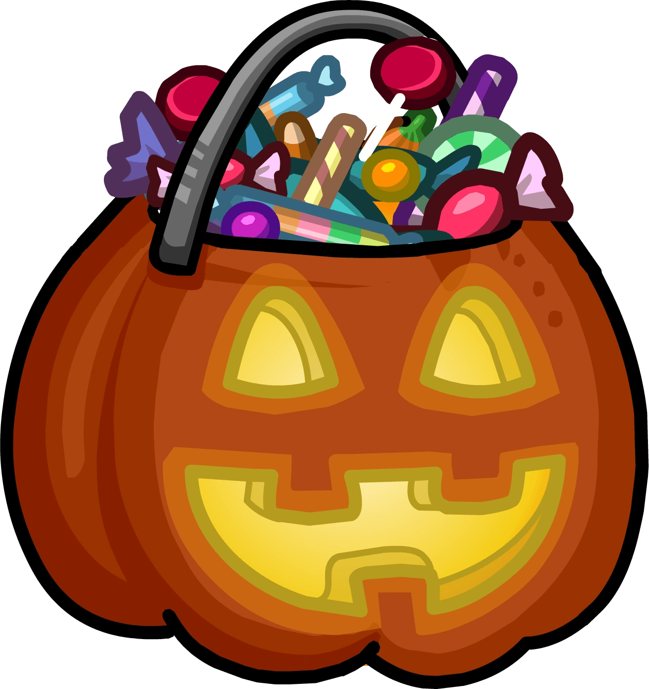 Halloween Art Creatures Clip