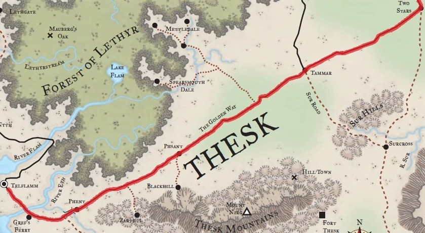 Map Faerun Forgotten Realms