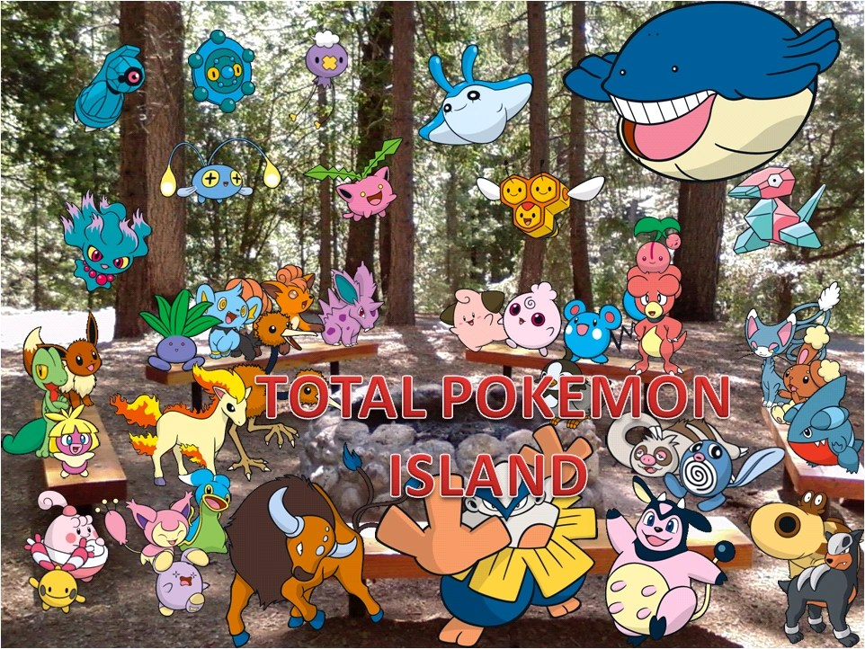 Total Pokemon Island Characters ...