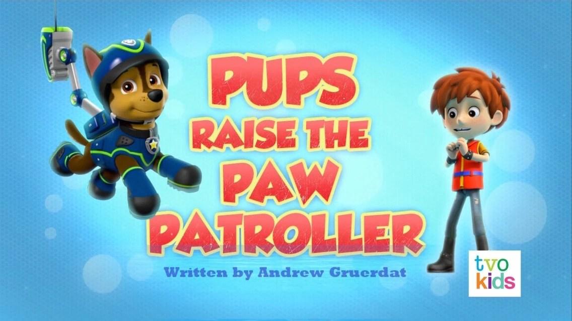 Rocky Nick Patrol Jr Paw