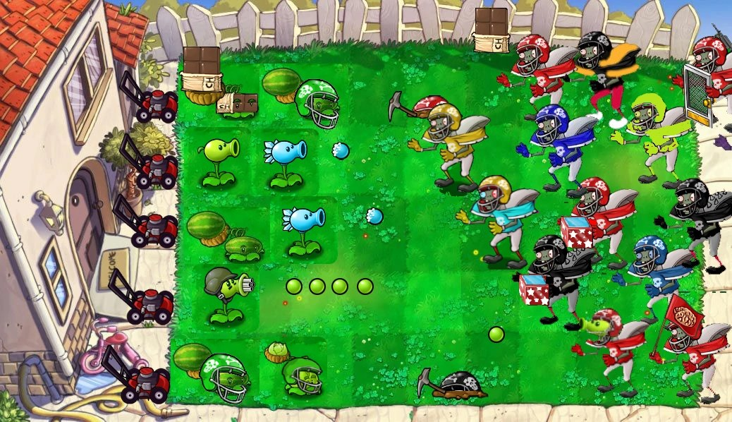 Zombie Plant Games