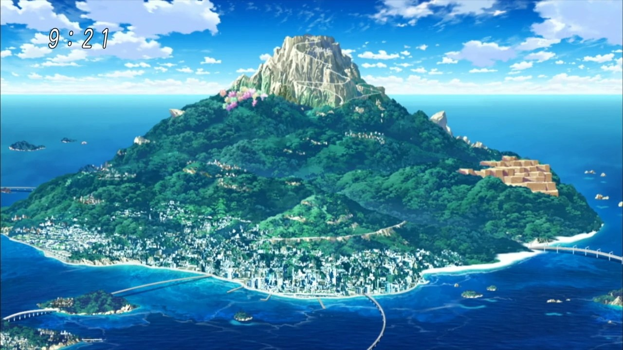 Image - Moonlight Island Anime.png | One Piece: Ship of ...