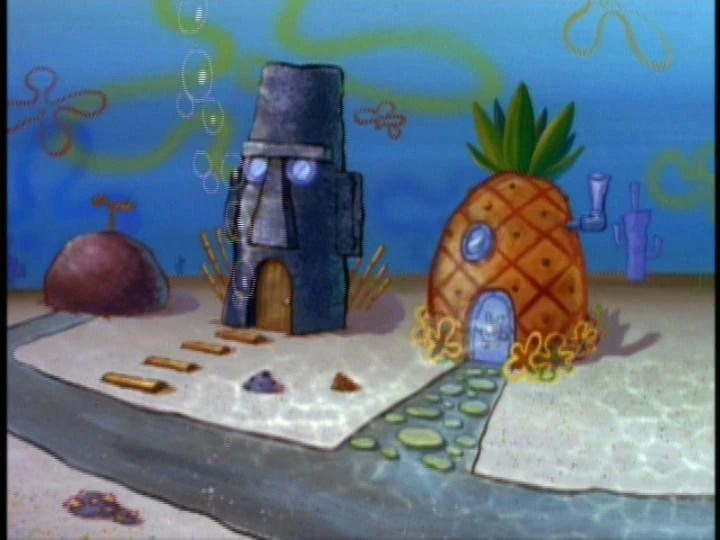 Plankton Spongebob House