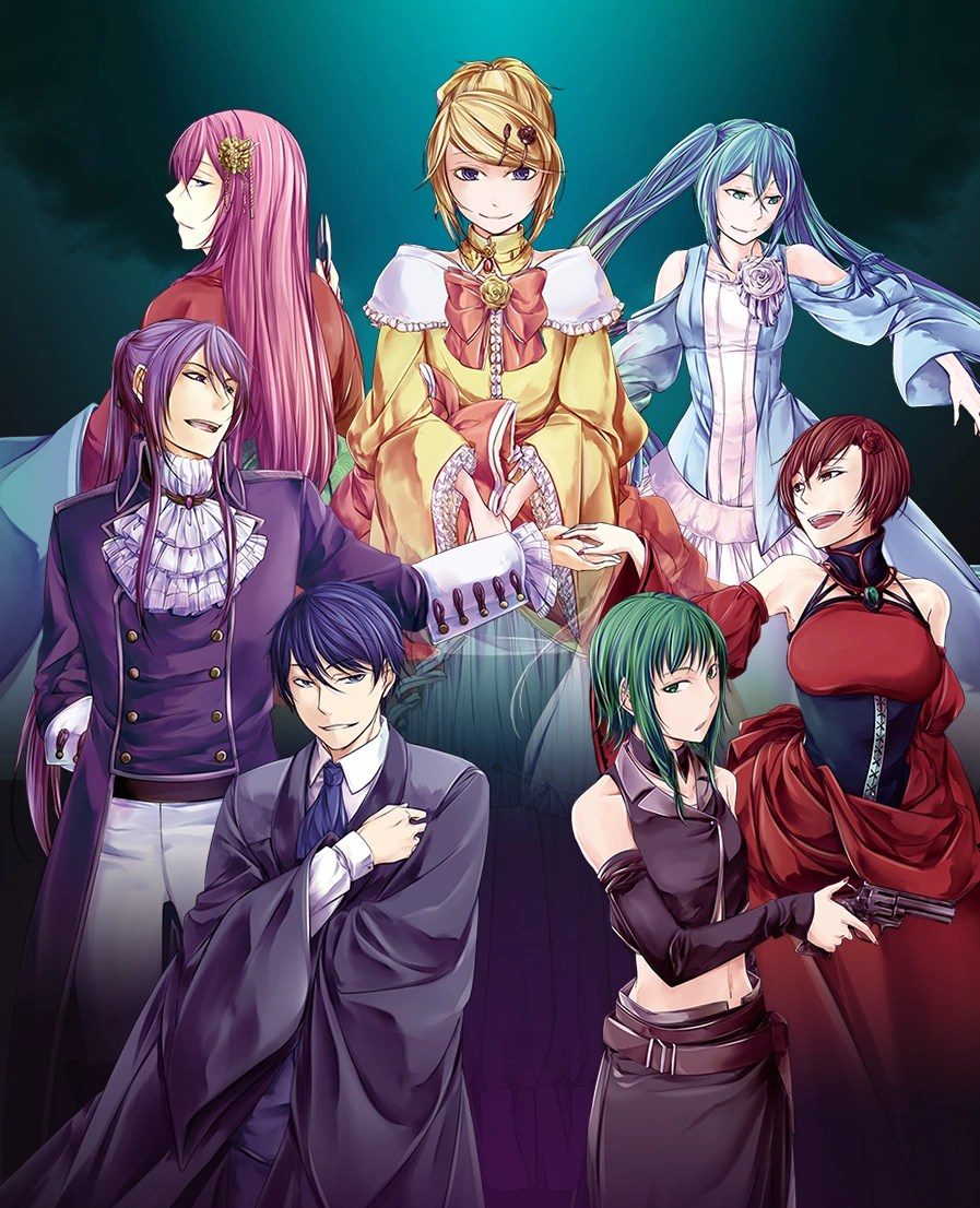Seven Deadly Sins Series | The Evillious Chronicles Wiki ...
