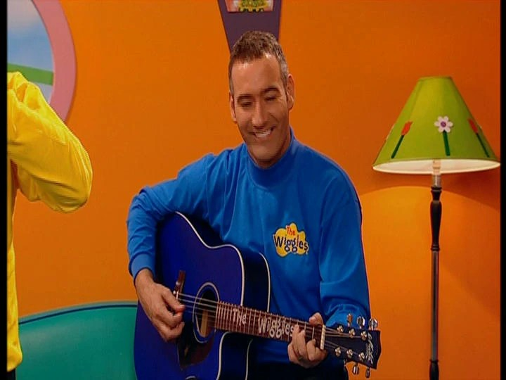 Wiggles Anthony Field Guitar