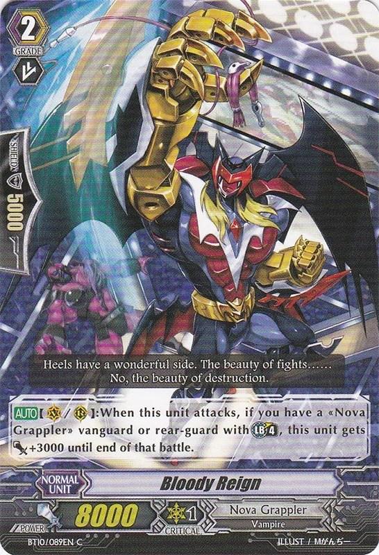 Bloody Reign Cardfight Vanguard Wiki Fandom Powered