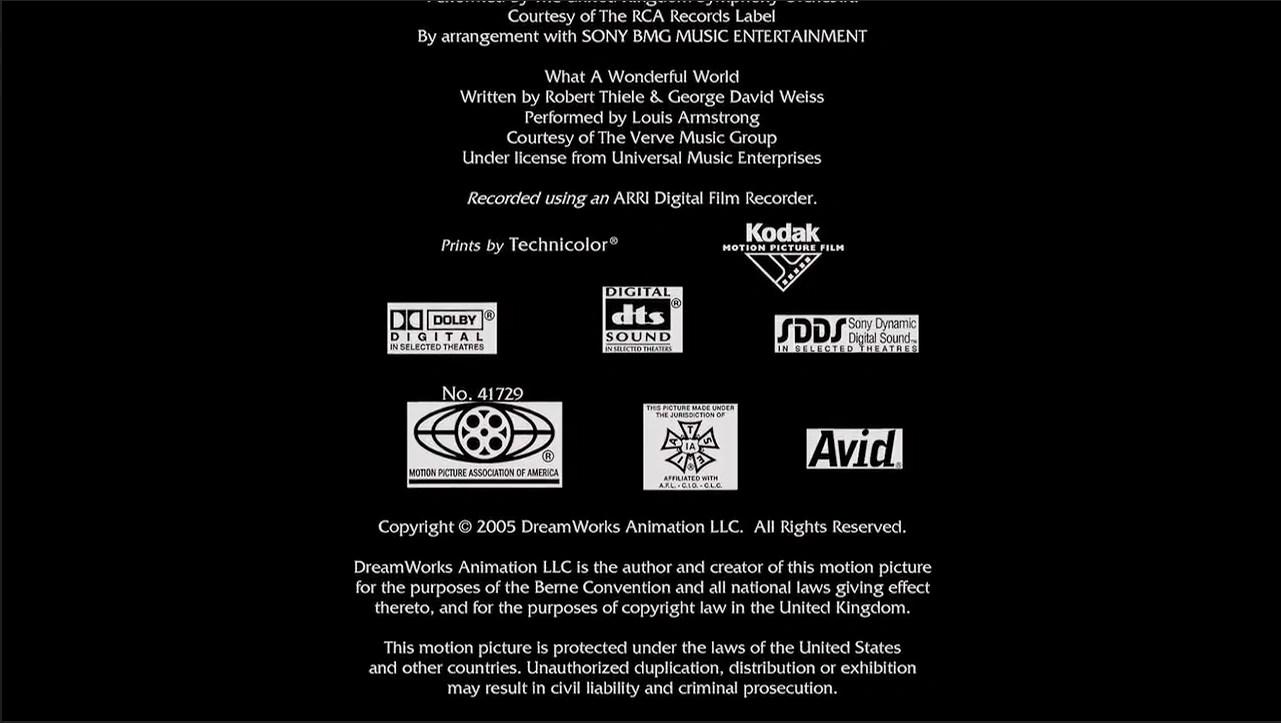 Mpaa End Credits No Logo