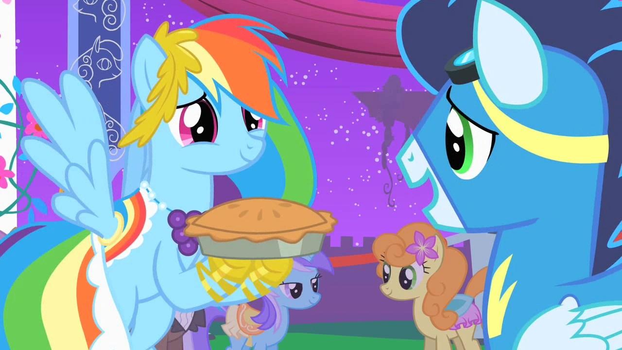 Rainbow X Mlp Dash Family Soarin
