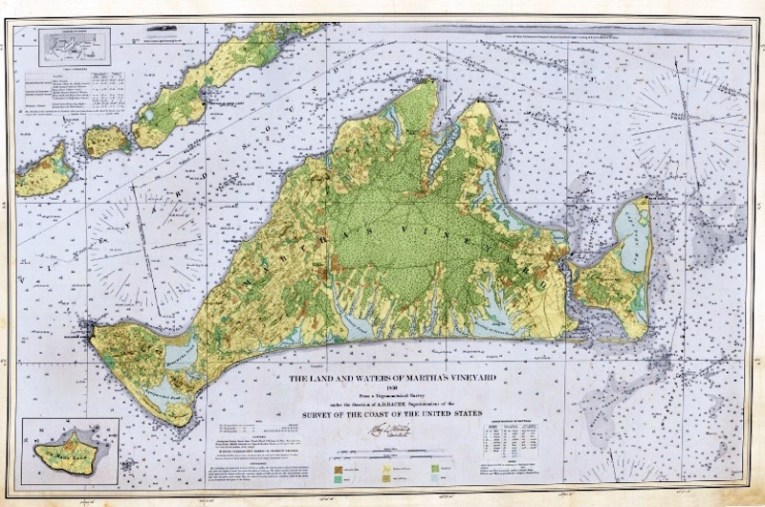 The Vineyard Gazette   Martha s Vineyard News   Map of the Past Is     To explore interactive map  visit mv1850 com