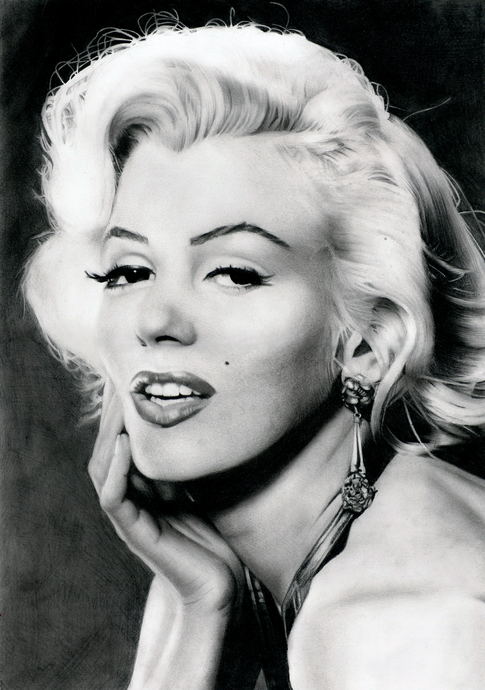 Beautiful B&W portraits of Marilyn Monroe | vintage everyday