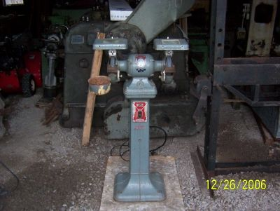 Photo Index Delta Manufacturing Co Pedestal Grinder