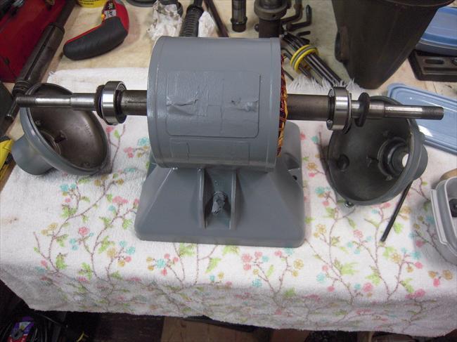 Photo Index Baldor Electric Co 612e Bench Grinder