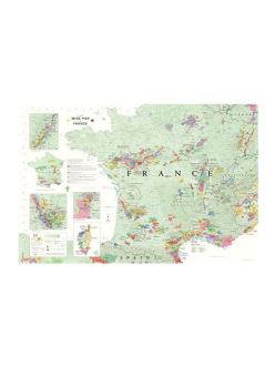 Wine map of France      Vinum Design     map of France  Print