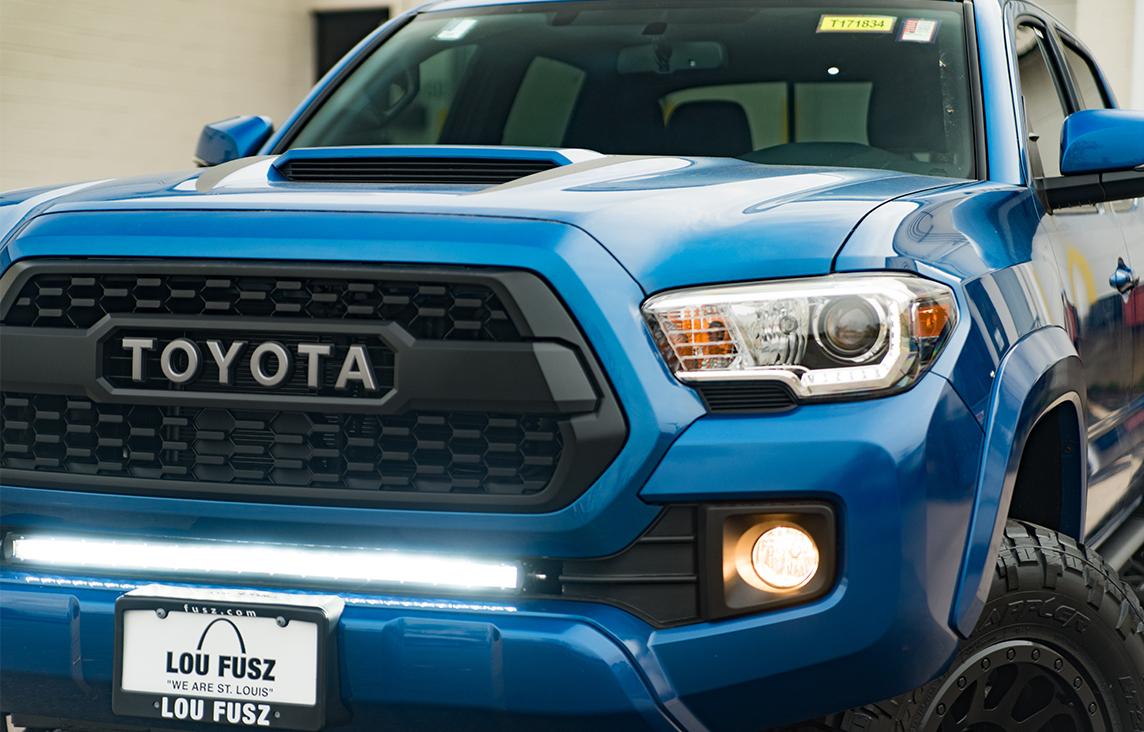 Light Blue Toyota Tacoma
