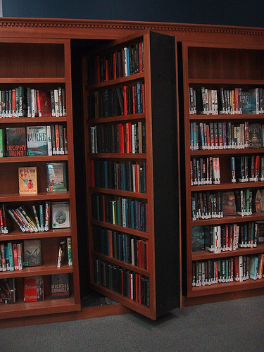Diy Hidden Bookshelf Door Plans Download Arts Crafts