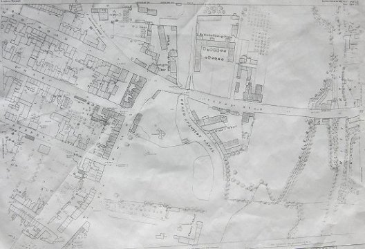 Leighton Buzzard Maps  1880   OS Map   xxviii 10 18   Digitised     Map showing the Canal Road area