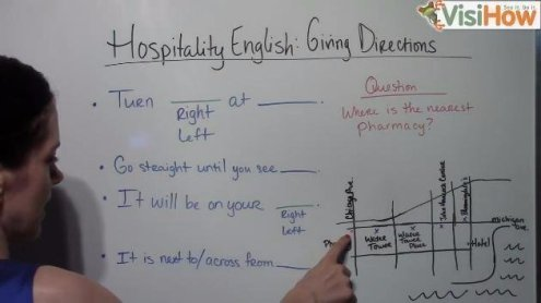 Give Directions to Hotel Guests Using Proper Hospitality and Hotel     Give directions to a Hotel guest using proper hospitality and hotel  English mp4 canvas146
