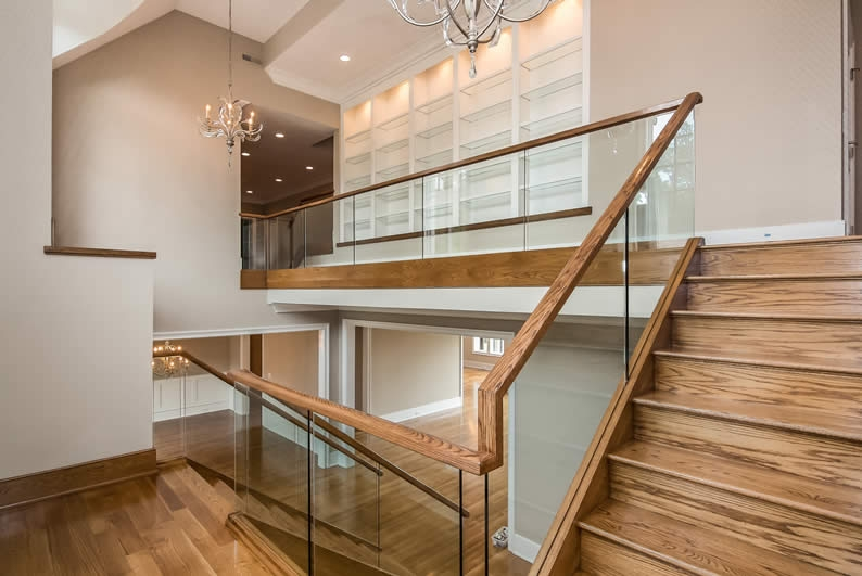 Modern Staircases Atlanta Stair Company Vision Vision | Glass Staircase Panels Near Me | Glass Railing Systems | Wood | Spiral Staircase | Stair Parts | Stainless Steel