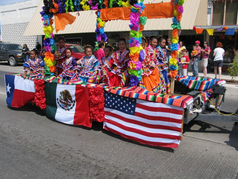 Cinco De Mayo Parade Alpine Texas
