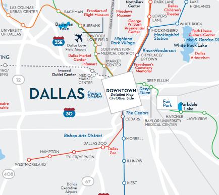 Dallas Love Field Parking Map