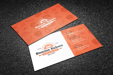 Free business card templates best business cards templates most used for example you can create or customize themes in powerpoint then apply them to a word document or an excel sheet that way all related business reheart Images