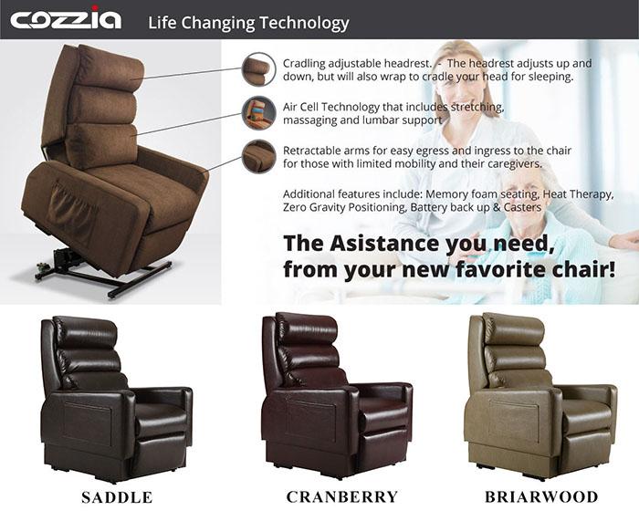 Chair Full Parts Recline Lift