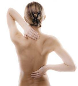 pain in upper back