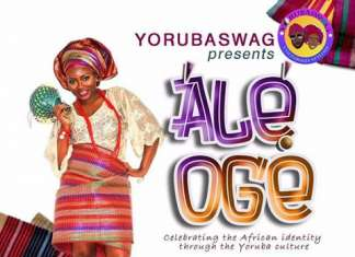 Ale Oge event - Demilola Abass