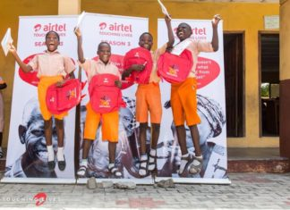 Airtel Touching Lives Nigeria - Oremeji Primary School
