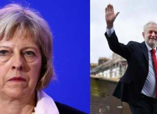 Hung Parliament - Theresa May and Jeremy Corbyn