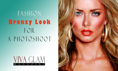 Fashion Bronzy Look for a Photoshoot